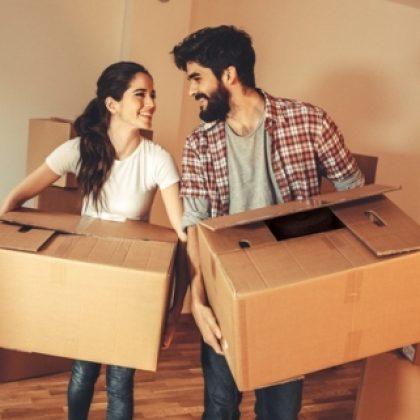 קרטונים למעבר דירה